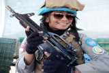 Bripka Astri Teresia, polwan tangguh pada misi UNAMID di Sudan