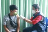 KAI Divre III Palembang vaksin  1.000 karyawan dan keluarga