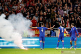 FIFA selidiki pelecehan rasial di laga Inggris vs Hungaria