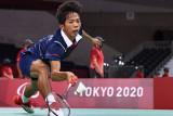 Indonesia meloloskan dua wakilnya ke semifinal tunggal putra SU5