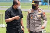 Kapolda Sumsel yang baru tiba di Palembang