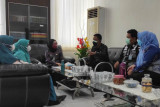 Dekranasda Takalar berkonsultasi dengan pejabat Kemenkumham terkait mekanisme pendaftaran HKI