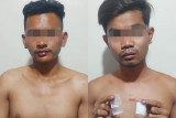 Dua pengedar narkotika jenis sabu ditangkap di Sentani Jayapura