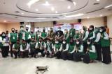 Bupati Inhu Rezita Meylani Yopi hadiri penyerahan sertifikat tanah