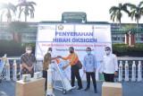 PT Bukit Asam salurkan bantuan tabung oksigen ke puskesmas