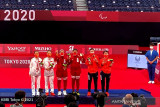 Leani Ratri meraih perak para-badminton tunggal putri SL4 Paralimpiade