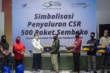 Peduli Warga Terdampak COVID-19, Bank Sultra Bagikan 1000 Paket Sembako