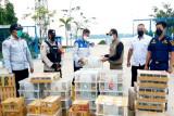 Karantina Pertanian Palangka Raya gagalkan penyelundupan 2.044 burung ke pulau Jawa