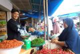 Harga cabai merah naik Rp4.000 di Pasar Raya Solok