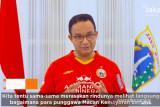 Liga 1 Indonesia : Anies imbau Jakmania dukung Persija dari rumah