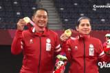 Ganda campuran Hary/Leani sabet emas kedua Indonesia di Paralimpiade Tokyo