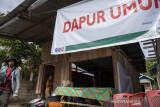 Dapur Umum Untuk Korban Banjir Bandang Susulan Desa Rogo