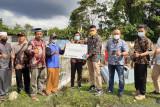 Realisasi CSR, PLN Sumbar bantu pembangunan TPU Tebing Tinggi