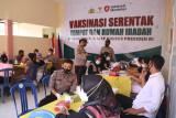 Vaksinasi Merdeka tahap pertama menyasar seribu warga Lombok Utara