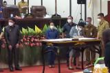 DPRD Manado gelar paripurna kesepakatan penandatanganan KUA PPAS APBD-P 2021