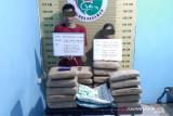 Sempat kabur saat dicegat, dua terduga kurir narkoba lintas provinsi dibekuk di Pasaman (Video)