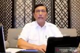 Luhut : 11 kabupaten/kota di Jawa-Bali masih terapkan PPKM level 4