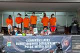 Polda Metro bongkar sindikat penipuan  yang catut nama Baim Wong