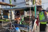 Satlantas Polres Meranti terus ingatkan masyarakat patuhi prokes