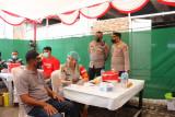 Wakapolda Sulut tinjau Vaksinasi Serentak di Masjid  Agung