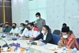 Bahas Ranperda olahraga, KONI Bengkalis audensi bersama DPRD
