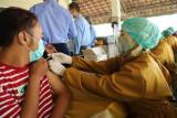 Sekitar 1.000 pelaku seni dan budaya di Bantul jadi sasaran vaksinasi COVID-19