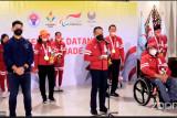 Kloter terakhir Kontingen Paralimpiade Indonesia tiba di Tanah Air