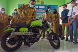Sepeda Motor Rancangan Siswa Tuna Rungu