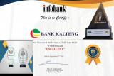 Raih lima penghargaan, Bank Kalteng berdiri tegak diantara raksasa perbankan
