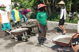 Padat karya infrastruktur di Bantul mampu tingkatkan akses jalan kampung