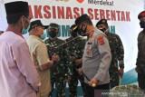 Vaksinasi dosis satu di kota Kupang capai 62,20 persen