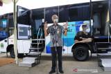 Gubernur Jateng luncurkan bus vaksin upaya percepatan vaksinasi