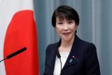 Sanae Takaichi buka peluang untuk jadi PM wanita pertama Jepang