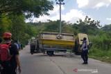 8 kendaraan terlibat kecelakaan maut di tanjakan Sigarbencah Semarang.