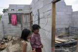 Rumah Rusak Akibat Angin Puting Beliung Di Kabupaten Bekasi