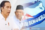 Jokowi-Ma'ruf Amin harap Demokrat terus jaga demokrasi tetap sehat