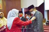 114 dosen Unhas Makassar terima tanda kehormatan dari Presiden Jokowi