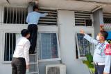 Lapas Rajabasa cek jaringan listrik dan tabung pemadam antisipasi kebakaran