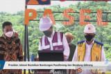 Presiden Joko Widodo resmikan Bendungan Paselloreng Sulsel