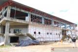 Telah sampai tahap ini, pembangunan Gelanggang Olahraga  tipe B di Payakumbuh