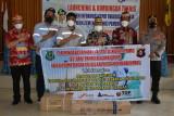 Pemkab Kapuas terima bantuan oksigen 100 tabung dari PBS