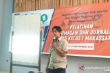 Perum LKBN Antara beri pelatihan jurnalistik bagi humas Lapas Makassar