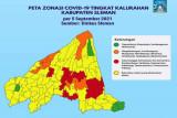 10 kelurahan di Sleman masih berstatus zona merah COVID-19