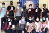 280 atlet Kabupaten Magelang disuntik vaksin COVID-19