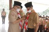 Ketua Kwarcab Pramuka Pringsewu lantik pengurus Mabi