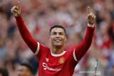 Ronaldo hiasi debut kedua bersama MU dengan dua gol kemenangan