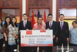 Perusahaan China donasikan alat penanggulangan COVID-19 untuk Indonesia