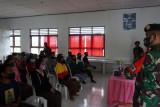 Satgas Pamtas beri edukasi prokes bagi pelajar di perbatasan RI-Timor Leste