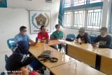 Dihadiri puluhan anggota PWI  Bengkalis, Bambang Gusfryadi ditunjuk ketua Panpel Konfercab