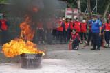 Rutan Bantul-BNPB menggelar pelatihan mitigasi bencana kebakaran